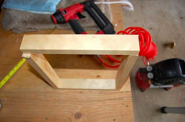 مرحله دوم : ساخت چهار چوب
