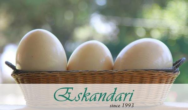 کیفیت تخم شترمرغ سانان