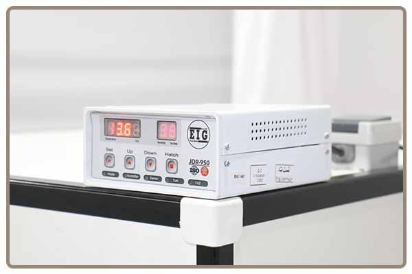 سیستم فازی تنظیم دما و رطوبت دستگاه جوجه کشی 1008 تایی هواباتور