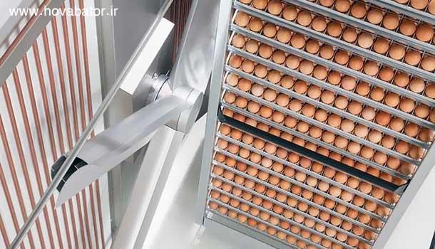طراحی یک دستگاه با ظرفیت یکصد تخم مرغ